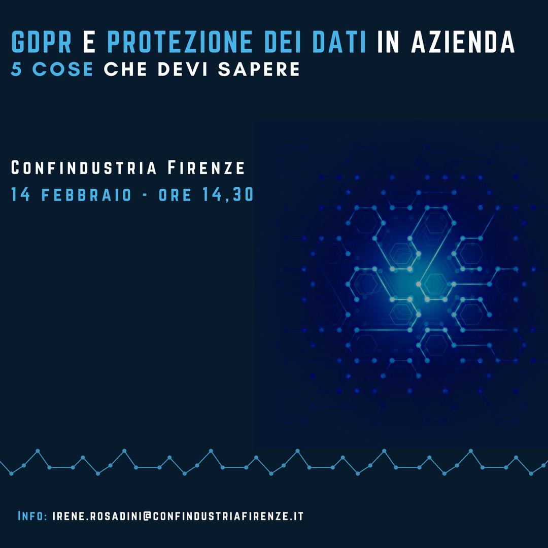 GDPR e protezione dei dati in azienda5 cose che devi sapere