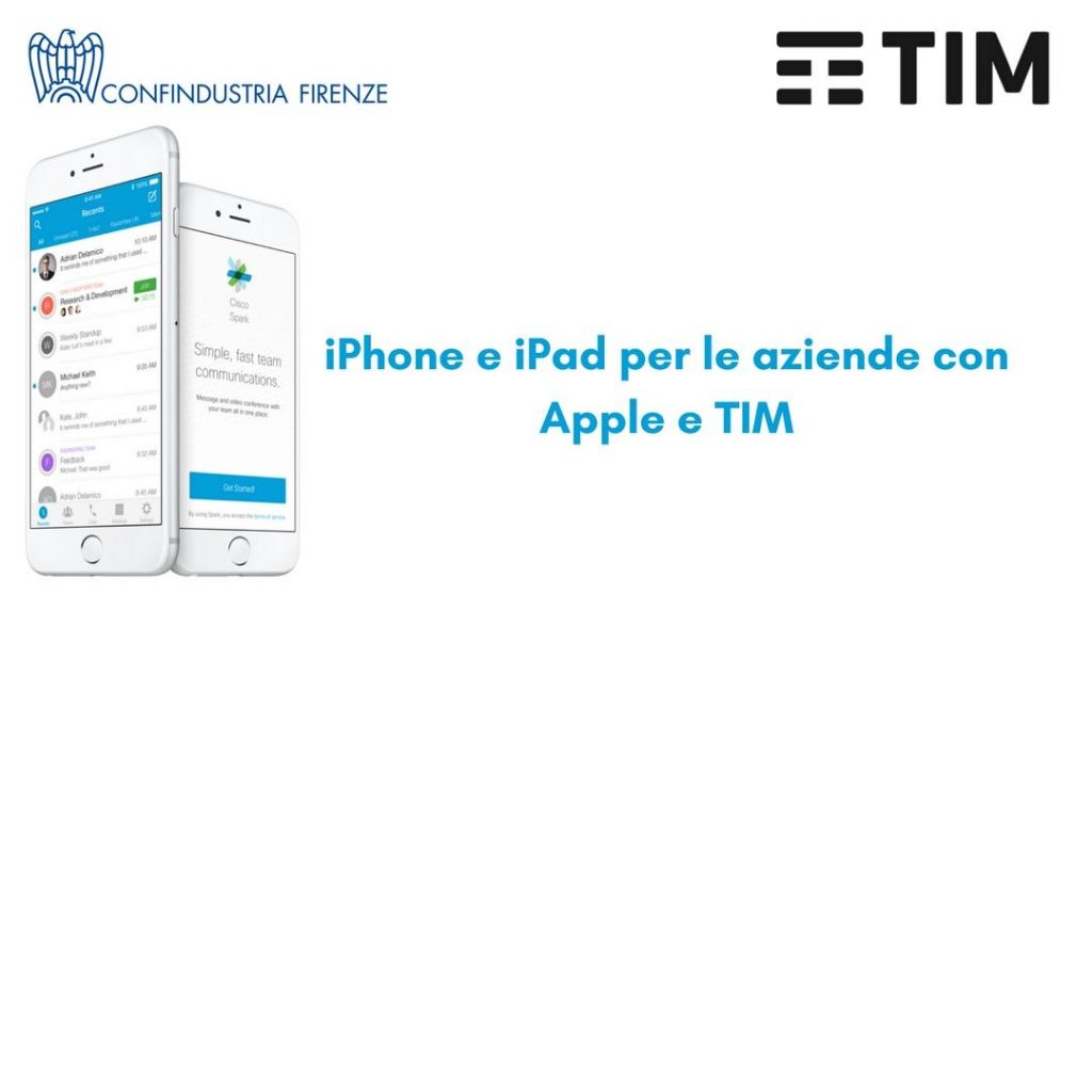 iPhone e iPad per le aziende