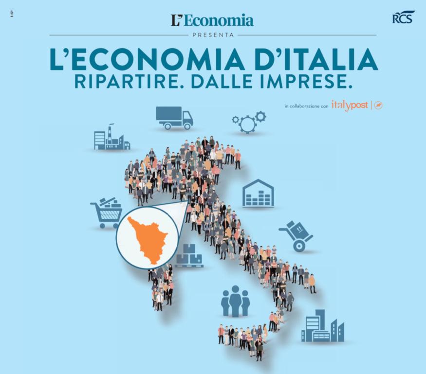 L'ECONOMIA D'ITALIA RIPARTIRE. DALLE IMPRESE.