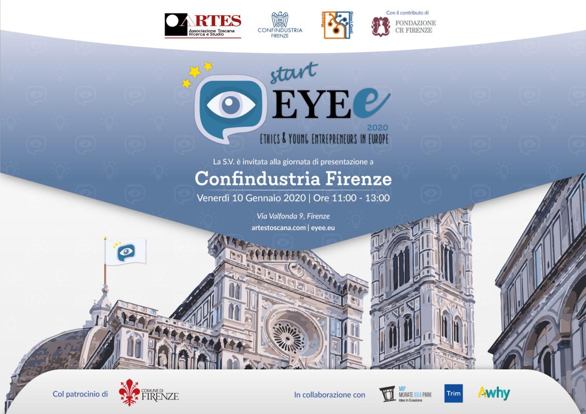 StartEYE 2020, la presentazione del progetto EYE per l'anno 2020