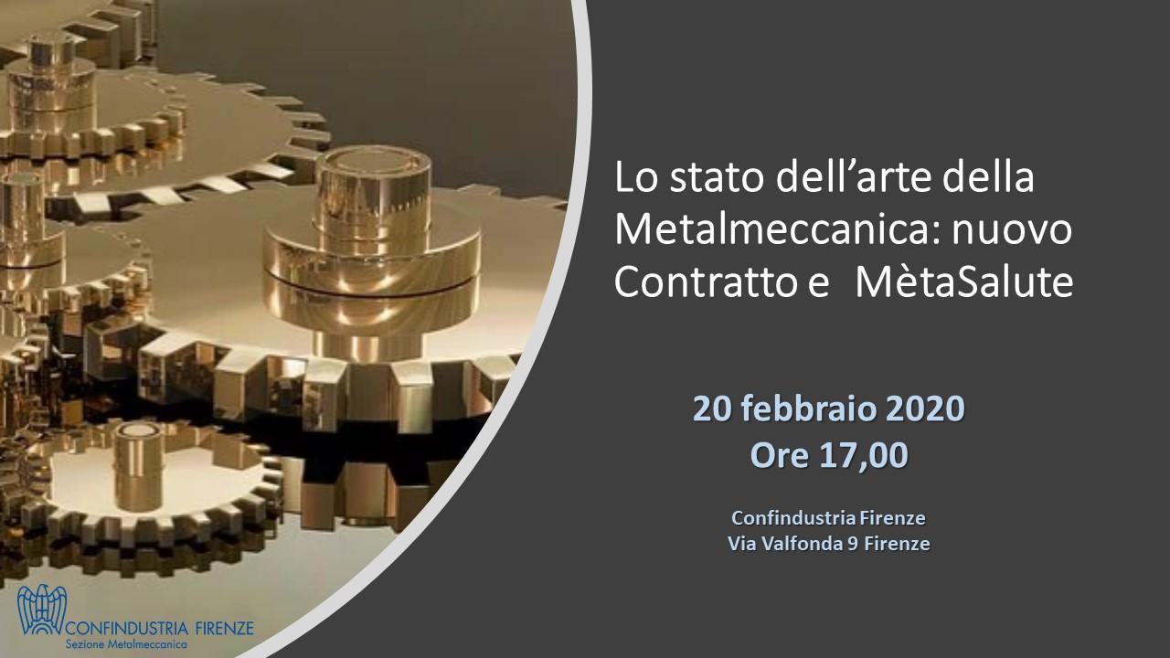 Lo stato dell'arte della Metalmeccanica: nuovo Contratto e Métasalute