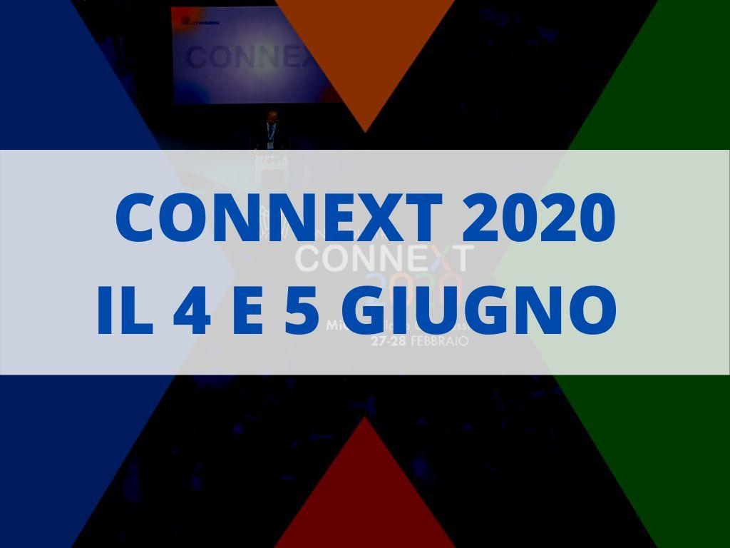 connext 2020 4 e 5 giugno