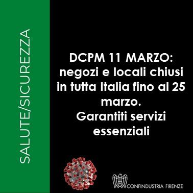 dcpm11marzo