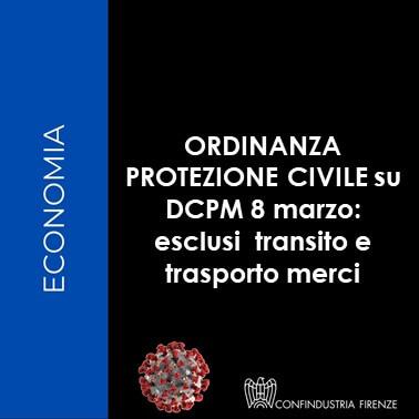 ordinanza protezione civile