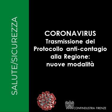 trasmissione protocollo anticontagio