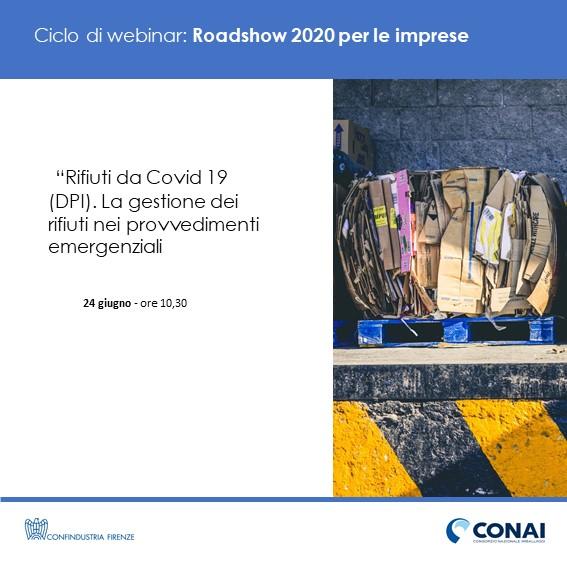 Rifiuti da Covid 19 (DPI). La gestione dei rifiuti nei provvedimenti emergenziali