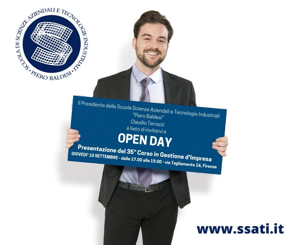Open Day: presentazione del 35° Corso in Gestione d'Impresa