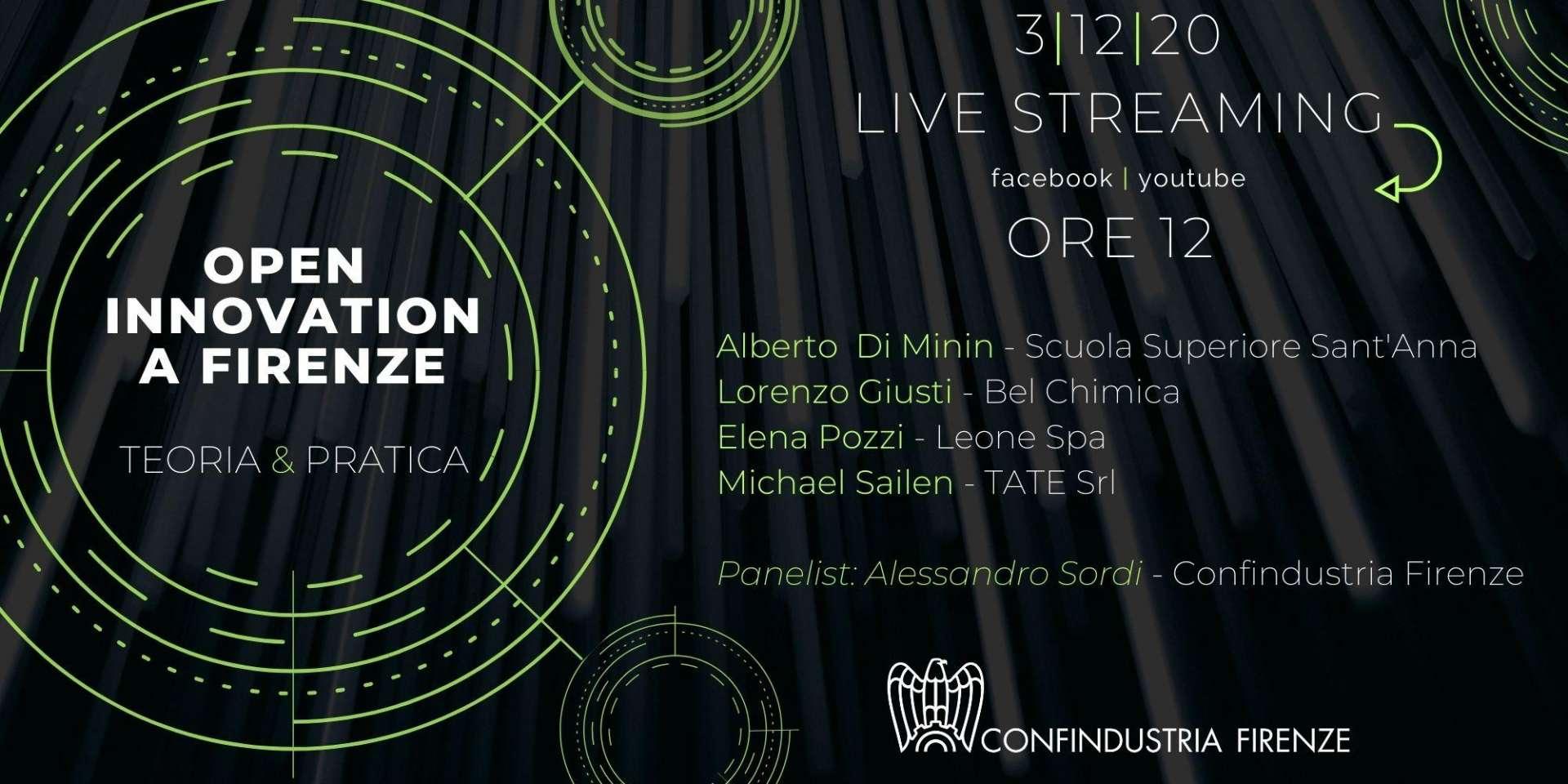 Open Innovation a Firenze: teoria & pratica