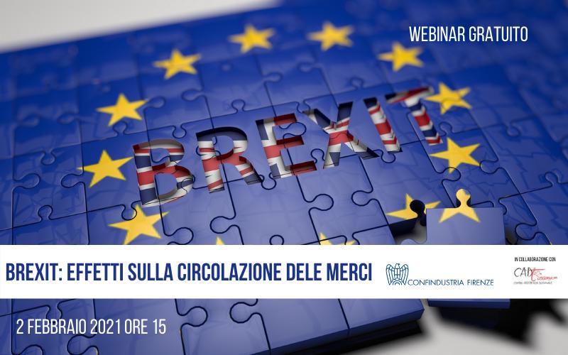 Brexit: effetti sulla circolazione delle merci