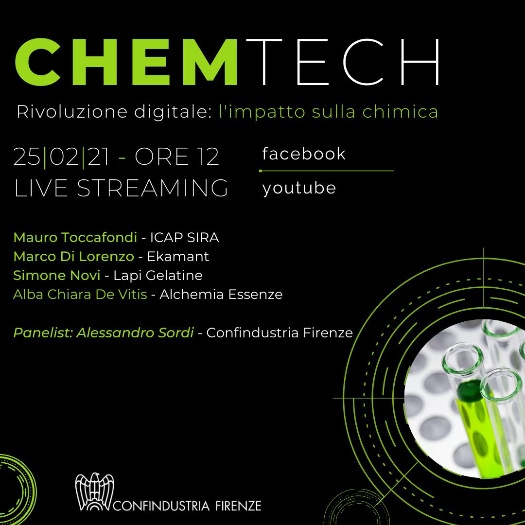 CHEM TECH - Rivoluzione digitale: l'impatto sulla chimica