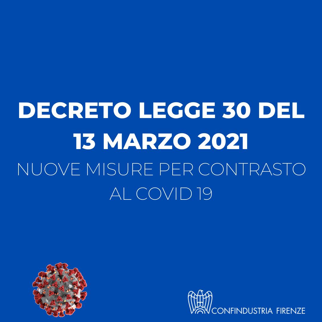 decreto legge 30