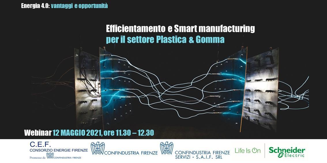 Efficientamento e Smart manufacturing per il settore Plastica & Gomma