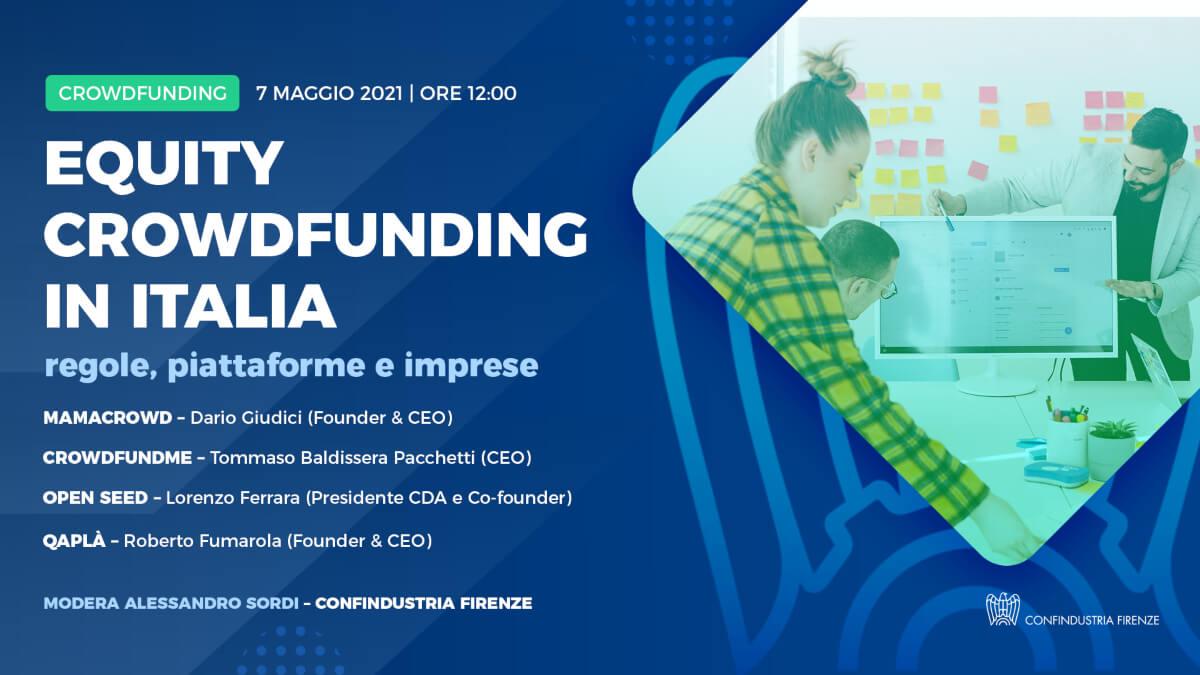Equity crowdfunding in Italia: regole, piattaforme, imprese