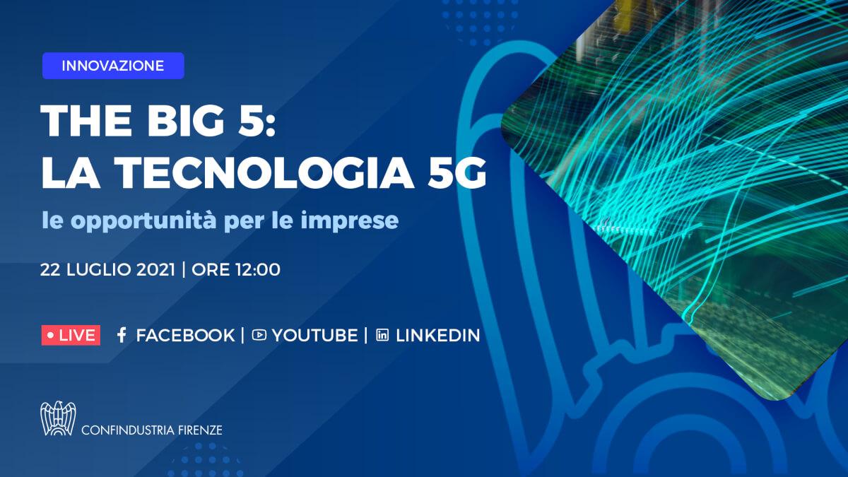 The Big 5: la tecnologia 5G e le opportunità per le imprese